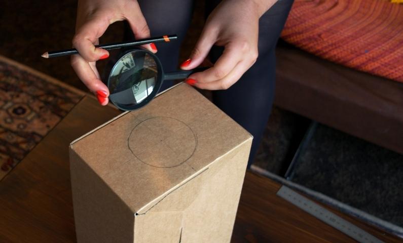 Сделать проектор из телефона