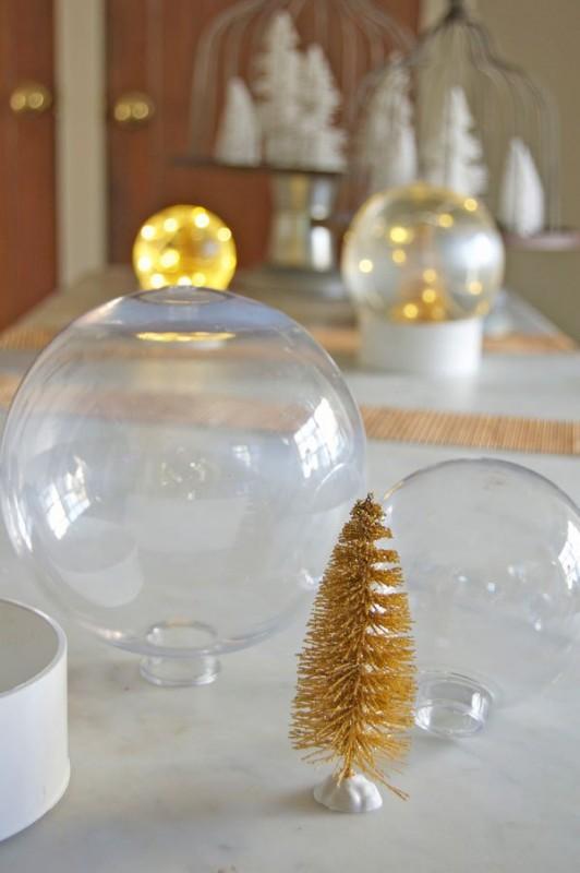 diese goldene schneekugel ist der knaller unter jedem. Black Bedroom Furniture Sets. Home Design Ideas